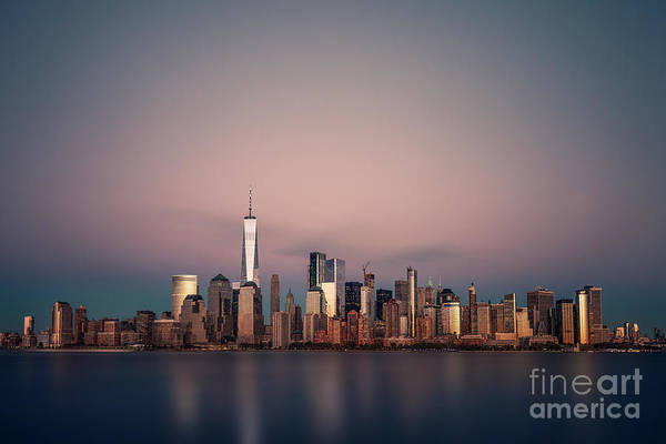 Wall Art - Photograph - Golden City by Evelina Kremsdorf