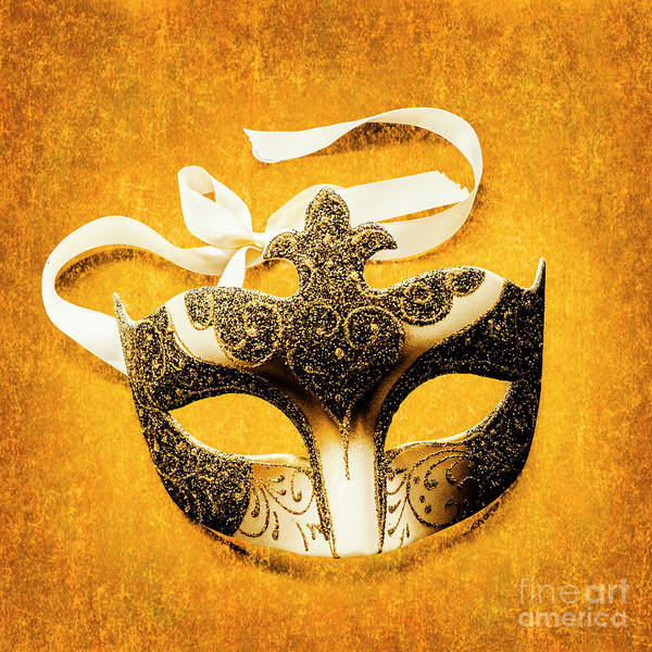 Masquerade Wall Art - Photograph - Golden Gala by Jorgo Photography - Wall Art Gallery