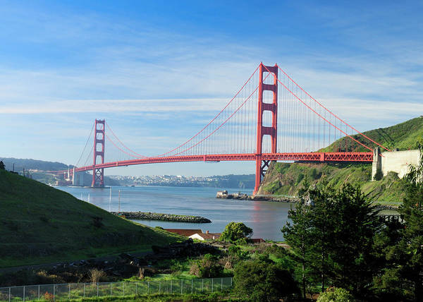 City Of David Photograph - Golden Gate Across The San Francisco by David Rout