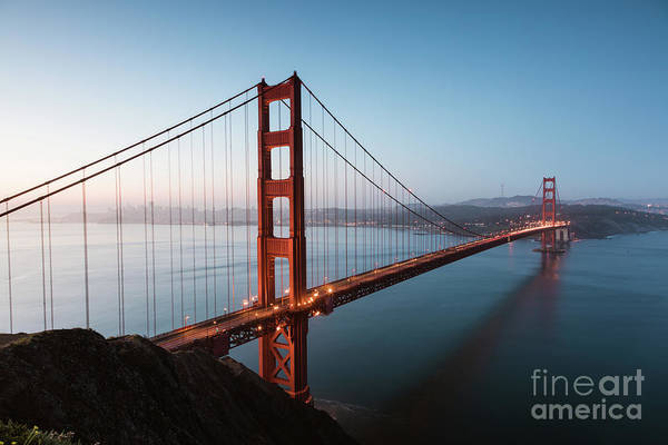 Wall Art - Photograph - Golden Gate At Sunrise, San Francisco by Matteo Colombo