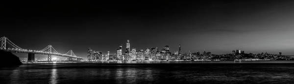 Wall Art - Photograph - Golden Gate Bridge And Urban Skyline by Panoramic Images