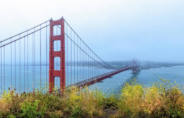 Photograph - Golden Gate Bridge by Carolyn Derstine