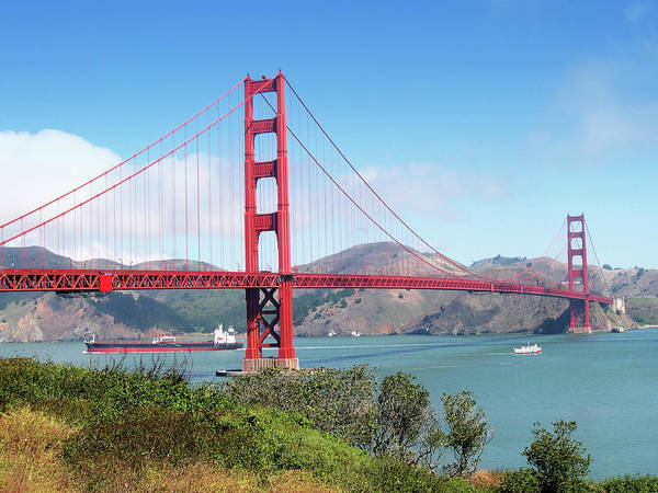 Water Sport Photograph - Golden Gate Bridge From Fort Point by Mediattivo