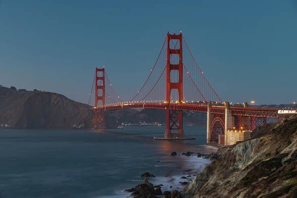 Photograph - Golden Gate Bridge by Philip Rodgers