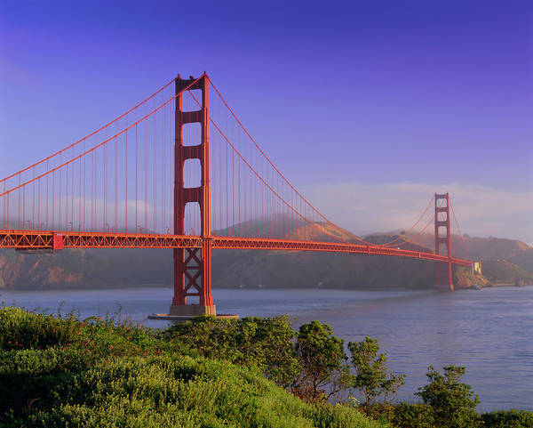 Wall Art - Photograph - Golden Gate Bridge, San Francisco by Gavin Hellier / Robertharding