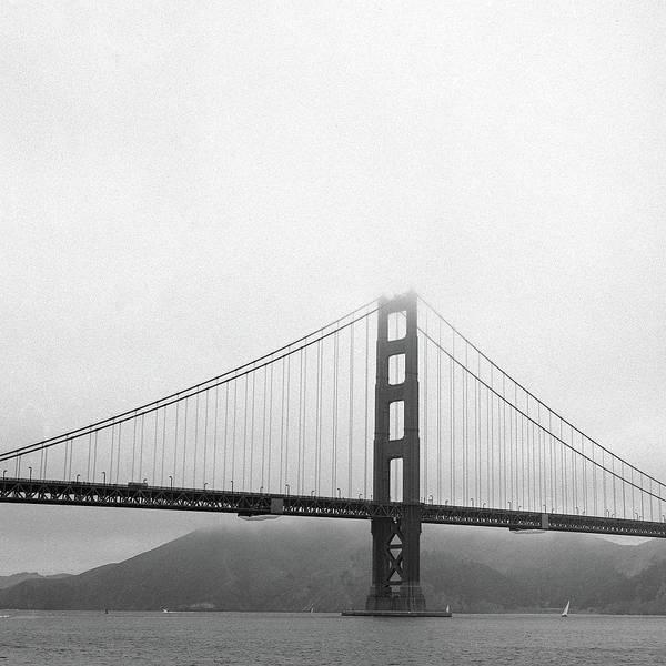 Golden Eye Photograph - Golden Gate Bridge by Seeing Through My Eyes