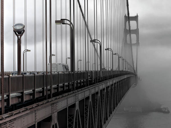 Wall Art - Photograph - Golden Gate City By The Bay by Daniel Hagerman