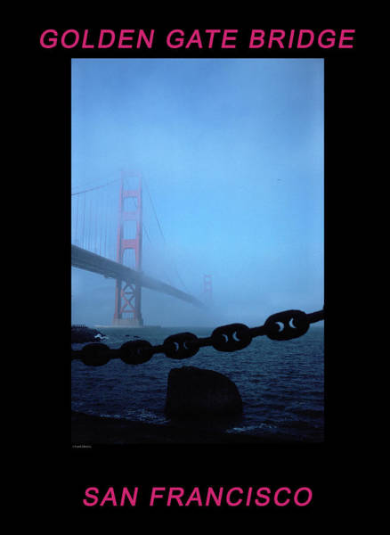 Photograph - Golden Gate Fog - 2 by Frank DiMarco