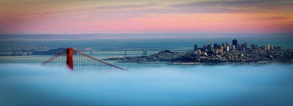 Wall Art - Photograph - Golden Gate Foggy At Morning by Mark Brodkin Photography