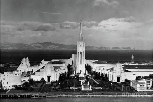 Photograph - Golden Gate International Exposition 1939-1940 Ppie Treasure I by California Views Archives Mr Pat Hathaway Archives