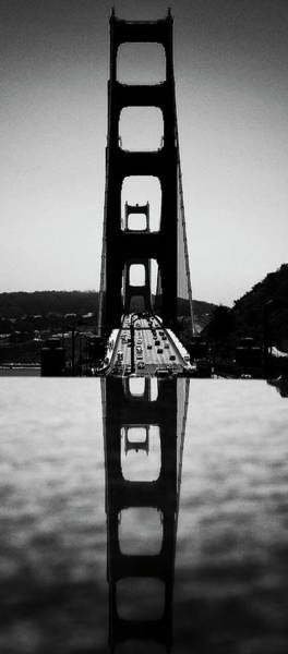Photograph - Golden Gate Reflection by Paul Croll