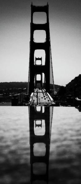 Golden Gate Reflection Art Print