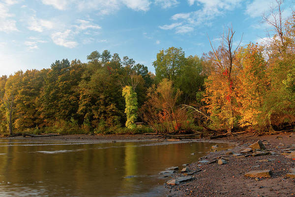 Photograph - Golden Hour At Esopus Meadows II by Jeff Severson