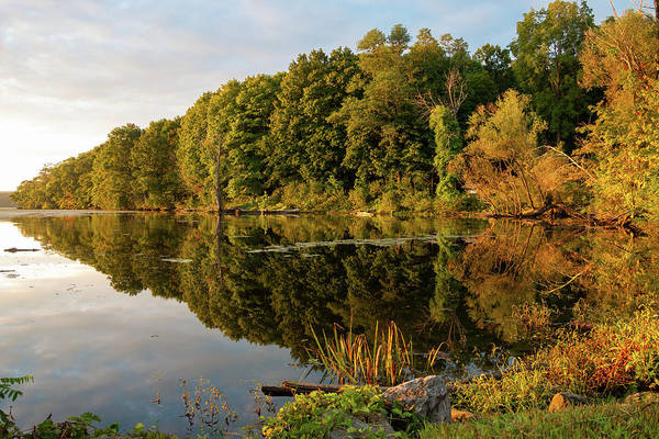 Photograph - Golden Hour At Esopus Meadows by Jeff Severson