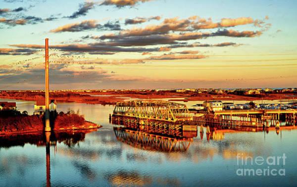 Photograph - Golden Hour Bridge by DJA Images