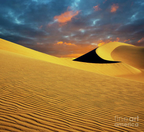 Wall Art - Photograph - Golden Hour Death Valley by Bob Christopher