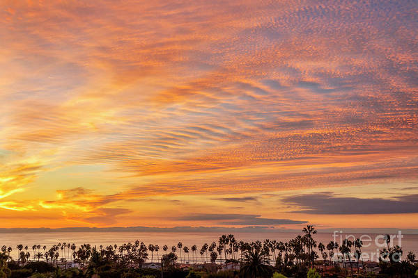 Wall Art - Photograph - Golden Hour Over La Jolla Shores Beach, California by Julia Hiebaum