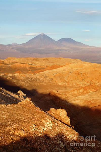 Photograph - Golden Light In The Valle De La Luna Chile by James Brunker