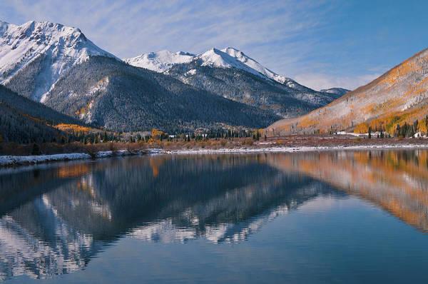 Silverton Photograph - Golden Mountain Majesty by Mike Berenson / Colorado Captures