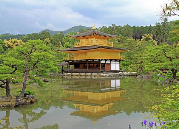 Photograph - Golden Pavilion - Kyoto, Japan by Richard Krebs
