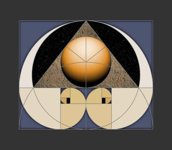 Digital Art - Golden Pyramid by Scott Onstott
