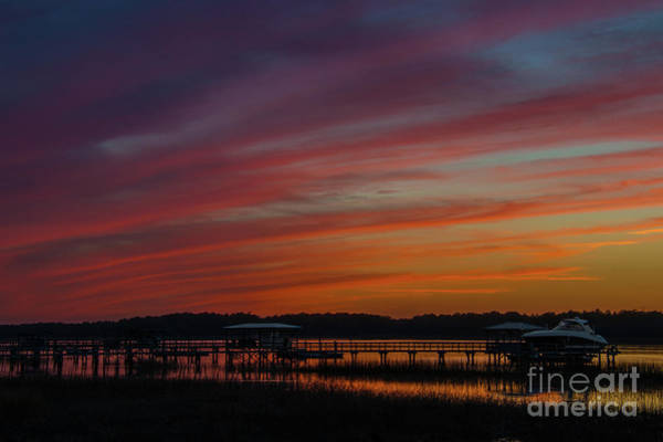Photograph - Golden Rainbow Sunset by Dale Powell