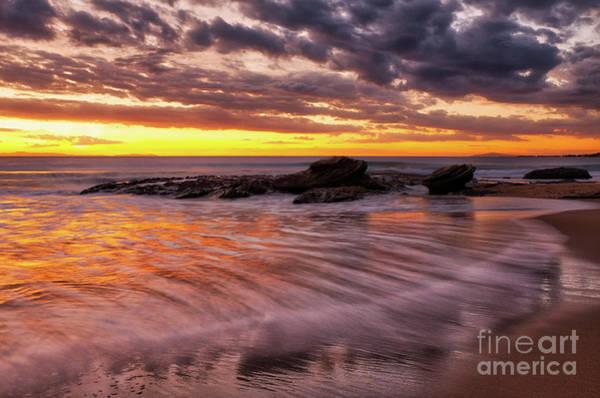 Photograph - Golden Reflections by Eddie Yerkish