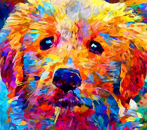 Wall Art - Painting - Golden Retriever 5 by Chris Butler