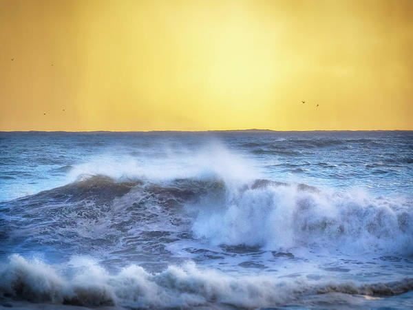 Wall Art - Photograph - Golden Skies by Steve Spiliotopoulos