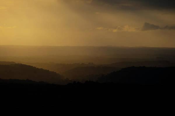 Photograph - Golden Sunset by Helen Northcott