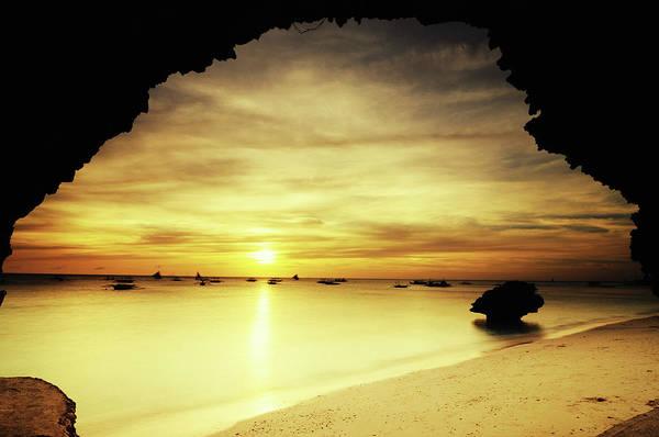 Photograph - Golden Sunset by Joyoyo Chen
