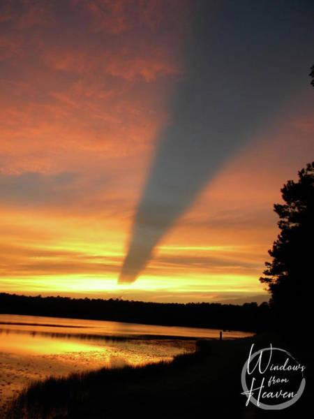 Photograph - Golden Sunset by Matthew Seufer