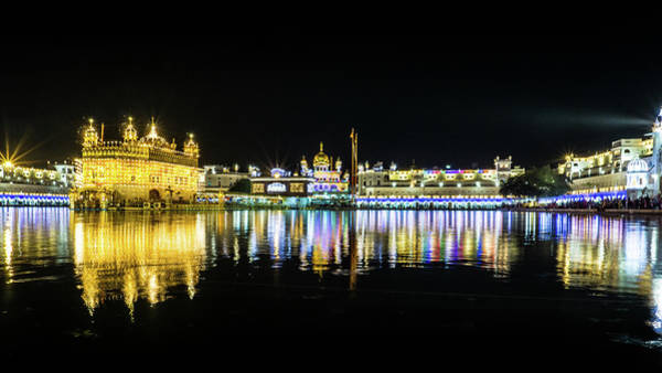 Photograph - Golden Temple Amritsar by Gary Gillette