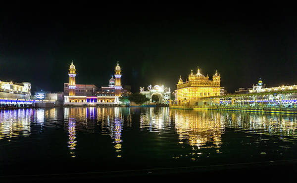 Photograph - Golden Temple Gurdwara by Gary Gillette