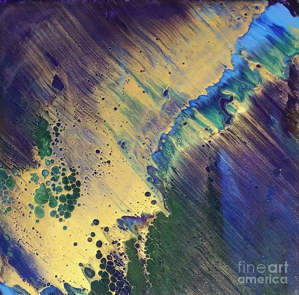Wall Art - Painting - Golden Tide by Christie Wagner