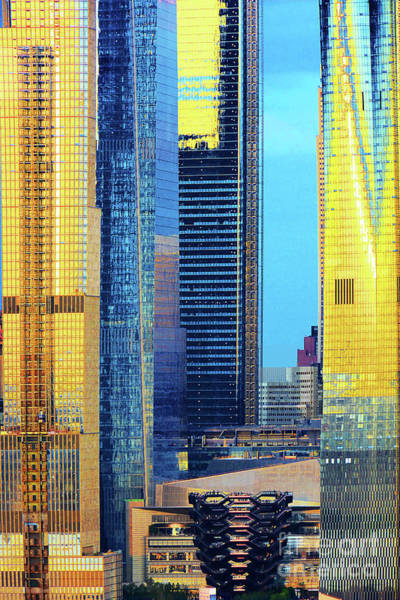 Wall Art - Photograph - Golden Towers And The Vessel by Regina Geoghan
