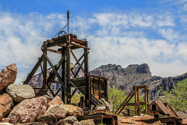Photograph - Goldfield Mine by Dawn Richards