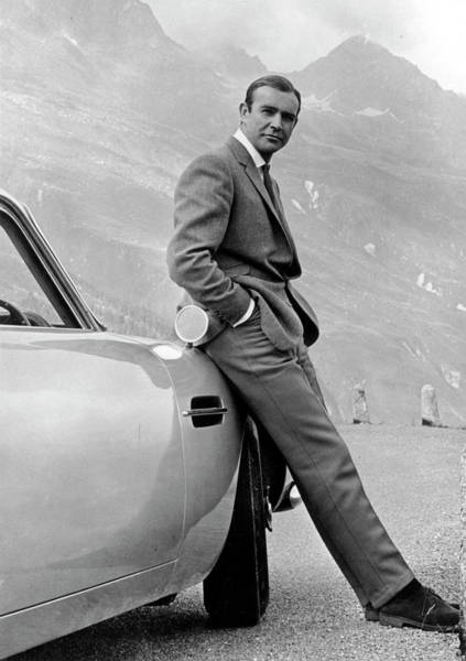 Men Photograph - Goldfinger by Michael Ochs Archives