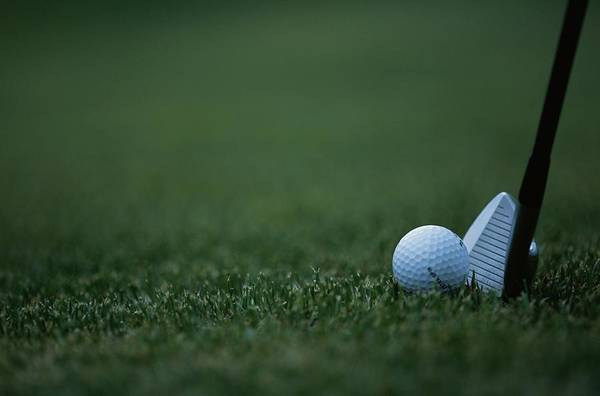 Golf Photograph - Golf Ball And Club, Close-up by Ryoichi Utsumi/a.collection