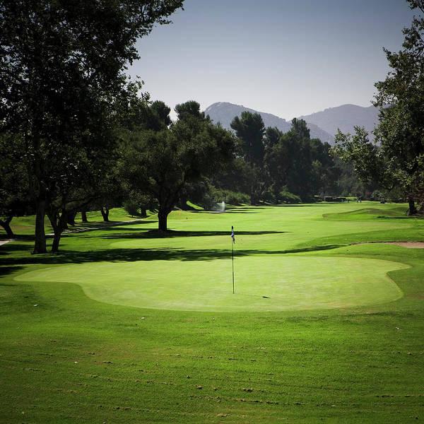 Golf Photograph - Golf Course Green by Meltonmedia