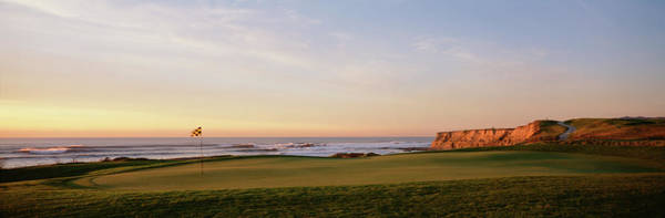 Wall Art - Photograph - Golf Course On The Coast, Half Moon by Panoramic Images
