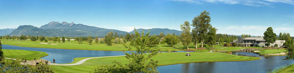 Golf Course Photograph - Golf Course Panorama Xxl by Rontech2000