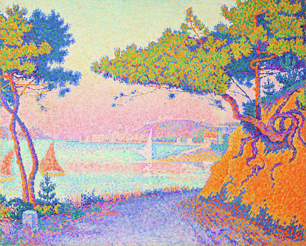 Neo-impressionism Wall Art - Painting - Golfe Juan - Digital Remastered Edition by Paul Signac