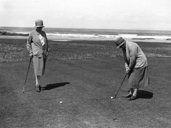 Ball Photograph - Golfing Eves by E Bacon