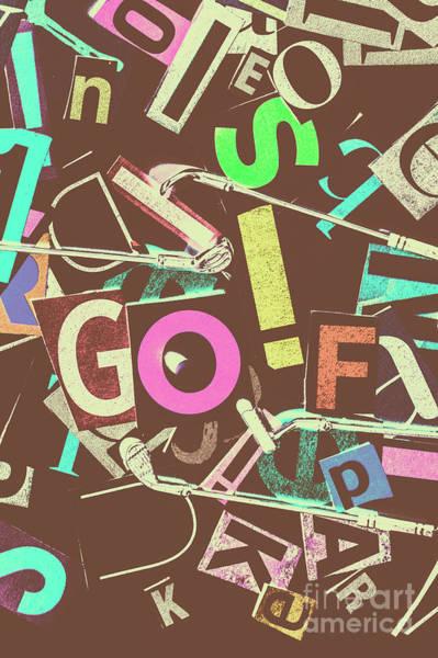 Golfing Wall Art - Photograph - Golfing Print Press by Jorgo Photography - Wall Art Gallery