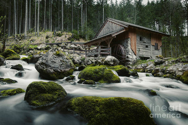 Wall Art - Photograph - Golling Water Mill by JR Photography
