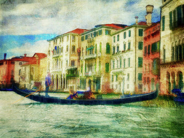 Photograph - Gondola Ride by Jill Love