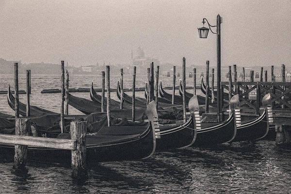 Gondolas At San Marco 2 Art Print