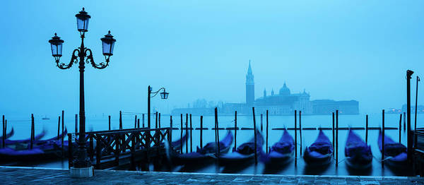 Wall Art - Photograph - Gondolas On The Waterfront Of St. Marks by Panoramic Images
