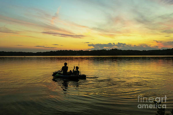 Wall Art - Photograph - Gone Fishing by Claudia M Photography